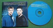 Savage Garden Affirmation inc Crash and Burn & You Can Still Be Free + CD