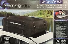 Samsonite Rooftop Cargo Carrier 100% Waterproof