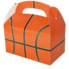 12 BASKETBALL TREAT BOXES Birthday Loot Goody Prize Gift Bag #AA22 FREE SHIPPING