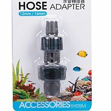 """1/2""""~5/8"""" 12~16mm Adapter Hose connection filter canister pipe fish tubing tank"""