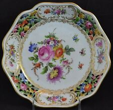 Von Shierholz Dresden Flower Reticulated Bowl 9""