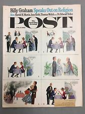 THE SATURDAY EVENING POST FEBRUARY 17, 1962 BILLY GRAHAM SPEAKS OUT ON RELIGION
