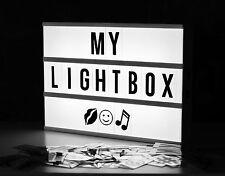 A4 cinematográfica Lightbox-Cine Sign-Bodas/escuelas/fiesta/tienda/Navidad
