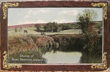 Irish Postcard SOURCE OF THE RIVER SHANNON Cavan Ireland Shureys Fine Art 1914