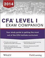 CFA level I Exam Companion: The Fitch Learning / Wiley Study Guide to Getting t