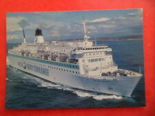 CPSM Bateau Paquebot Transbordeur ILE DE BEAUTE SNCM Ferry Mediterrannee Corse