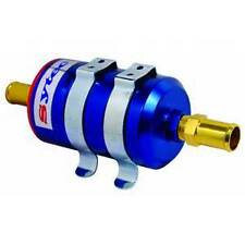 Sytec Bullet Billet Fuel Filter With 8mm Push On Fittings For Carb or Injection
