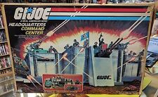 Vintage Gi Joe Headquarters Command Center With Box Near Complete ARAH Hasbro **