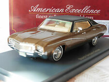 BUICK SKYLARK SEDAN 1968 METAL BROWN NEO 44708 1/43 BLACK ROOF LIMITED EDITION