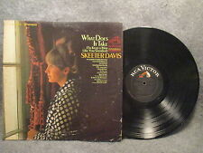 33 RPM LP Record Skeeter Davis What Does It Take RCA Victor Dynagroove LSP-3876
