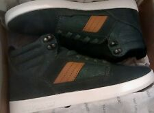 Supra Tom Penny Bandit 8.5 UK Mens Classic Skate Trainers Forest Green new