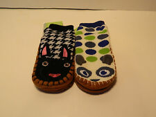 2 pair Joe Boxer Infant Gripper socks 1cat   One sfa   New with Tags