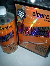 TCI 40% Premium Glamour Gallon Clearcoat Kit High Gloss Urethane 4 - 1 Mix Clear