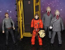 "Doctor Who The Satan Pit Sanctuary Base 5"" Action Figure Set 10th Dr"