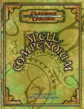 Spell Compendium Dungeons & Dragons d20 3.5 Fantasy Roleplaying