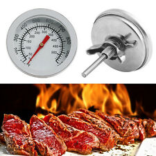 Neu Stainless Steel  50-500℃Barbecue BBQ Pit Smoker Grill Thermometer Temp Gauge