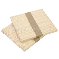 100x Wooden Body Hair Removal Sticks Wax Waxing Applicator Disposable Spatula
