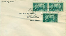 SCOTT # 930 FRANKLIN D. ROOSEVELT FDC, NO CACHET, GREAT PRICE!