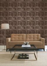 Fine Decor Rustic Wood Effect Pannel Wallpaper 10m 2 Colours