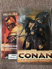 McFarlane Toys, Conan Series 2 Pallantine of the Black Dragon Figure, MIB, Rare