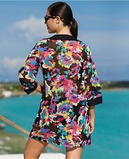 NWT Anne Cole Swimsuit Cover Up Tunic Size S M Mult