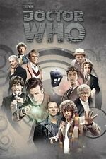 Dr Who 11 doctors Poster - Doctors through Time - New Doctor Who poster