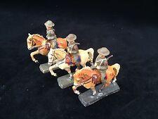 A141/  3  Hausser Elastolin Figuren  Reiter Kanadier (Kanada) von ca. 1935