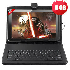 "9"" Inch A33 Allwinner Android 4.4 Quad Core Google 8GB Tablet PC Keyboard Bundle"
