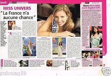 Coupure de presse 2006 (1 page 1/2) Election Miss Univers Alexandra Rosenfeld
