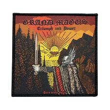 """Grand Magus """"Triumph and Power"""" Album Cover Art Metal Band Sew On Applique Patch"""