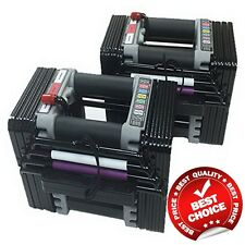 PowerBlock Elite Dumbbell 50 Pounds Dumbbell Set Fitness Exercise Weight Workout