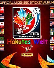 Panini Fußball Frauen WM 2015 Canada - 50 Sticker  - mint