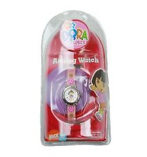 Dora the Explorer LCD Digital Display Pink Band Watch (STYLES WILL VARY)-NEW!