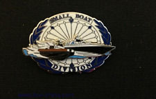 Hong Kong Police SDU Small Boat Division Metal Pin Emblem TRF/Patch/Badge 飛虎隊小艇連
