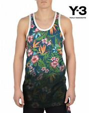 ☞ ☞ ☞ Y-3 Adidas Yohji Yamamoto Floral Fade Vest - Blue/Floral Size M ☜ ☜ ☜