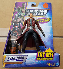 """Guardians of the Galaxy Hasbro Figure 5"""" STAR-LORD Quick-Draw Blasters New 2013"""