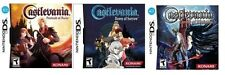 Castlevania: Portait & Sorrow & Ecclesia Combo Pack [Nintendo DS DSi, RPG] NEW