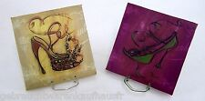 Fashion Design Motif Set Of 2 pictures on canvas Wall Tattoo Art Print Picture