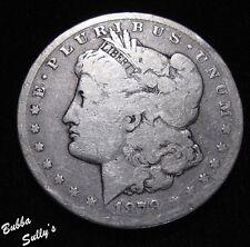 1878 Cc Morgan Silver Dollar Very Good Coin