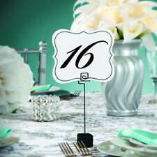 TABLE NUMBER CARDS 1 to 25 double sided David Tutera Bridal Wedding Party Decor
