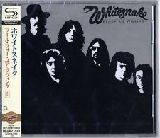WHITESNAKE-READY AN' WILLING +5-JAPAN SHM-CD E50