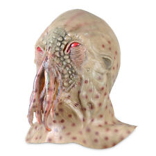 Horrible Ood Latex Octopus Mask Doctor Who Movie Prop Halloween Carnival Cosplay