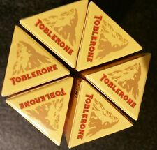 Toblerone Swiss Milk Chocolate With Honey & Almond Nougat Bars. 6 Bars (600g)