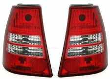 CRYSTAL CLEAR REAR TAIL LIGHTS LAMPS FOR VW BORA ESTATE TOURING NICE GIFT