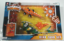 2004 Bandai Power Rangers Dino Thunder Dino Zord Set Complete Used w/ Box