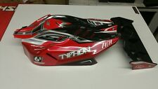 New 2016 version ARRMA Typhon 6s blx Red RTR Body  W/ wing & tethered body clips