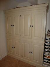 Painted 8 Door Kitchen Storage / Larder Cupboard