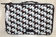 VERA BRADLEY Lg. Blush & Brush Makeup Case Cosmetic - Scottie Dogs -New with Tag