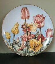 Border Fine Arts Tulip Fairy  Collectable Plate