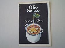 advertising Pubblicità 1962 OLIO SASSO